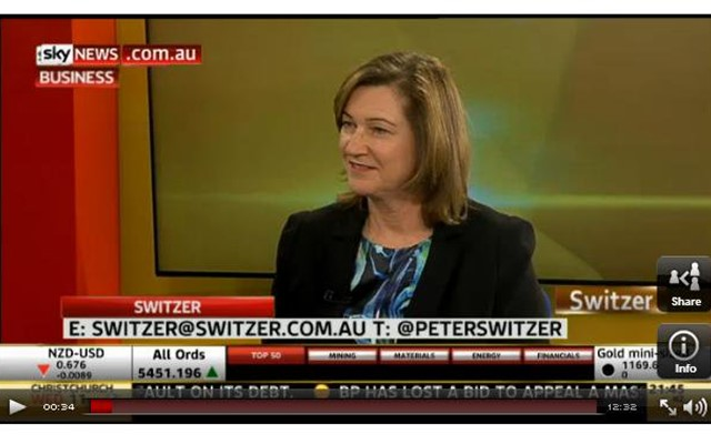 Lyn Lewis-Smith, CEO, BESydney, talks the importance of business events to our economy on Sky News' 'Switzer'